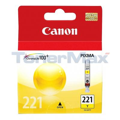 CANON CLI-221 INK TANK YELLOW